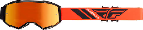 Antiparras Fly Zone Black/Orange