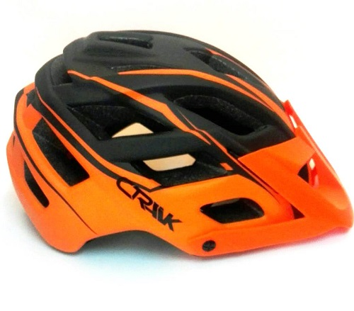 Casco Crank Orange / Black