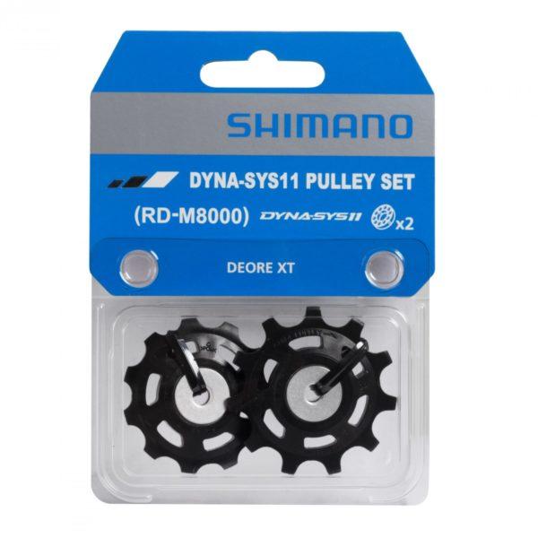 Poleas Shimano Cambio 11v rd-m8000 guide & tension
