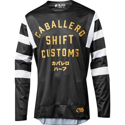 Jersey Shift Black Caballero X Lab Negro Talla L