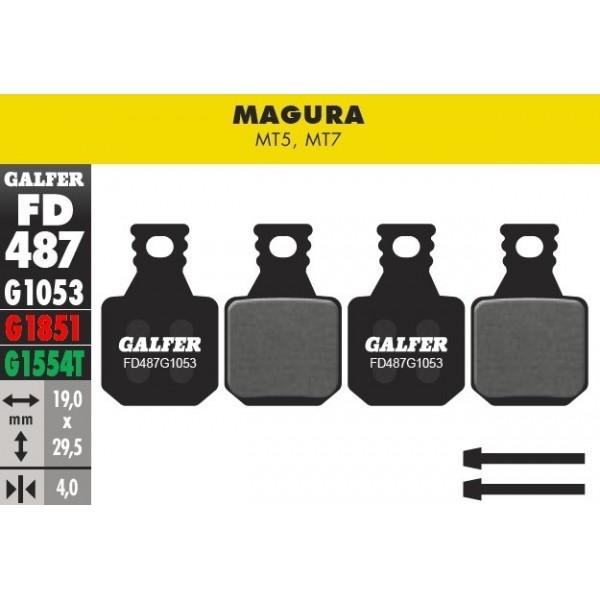 Pastillas Galfer Magura MT5 y MT7