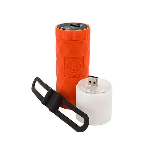 BUCKSHOT – PRO  /parlante + manos libres + Bluetooth + linterna + powerbank