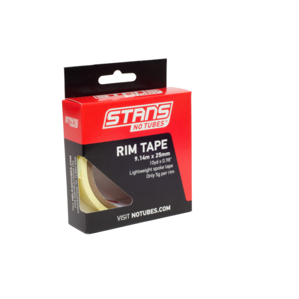Rim Tape Stans No Tubes 25mm 9.14 mts