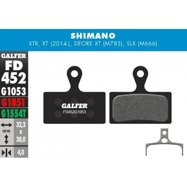 Pastillas Galfer Shimano M985, M785, M666