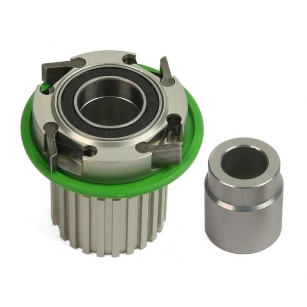 Núcleo Pro 4 Hope aluminio Shimano Microspline