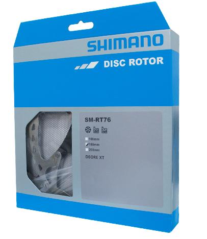 Rotor Shimano sm-rt76 180mm (6-pernos)
