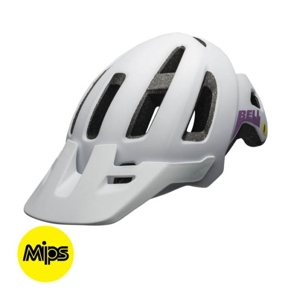 Casco Bell Mujer Nomad Mips Mat Wht/Pur