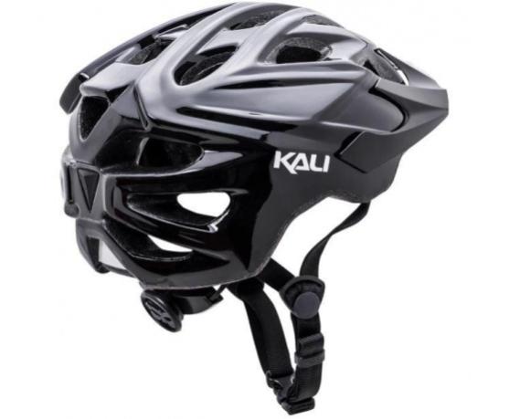 Casco Kali Chakra Solo Solid T/L-XL Black 56-61 cms