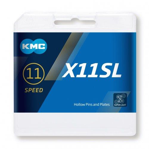 Cadena Kmc X11sl 1/2×11/128″ 11v Dorada