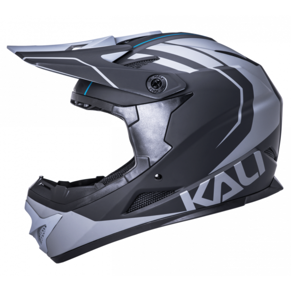 Casco Kali Zoka T/S (54-55) Black/Grey