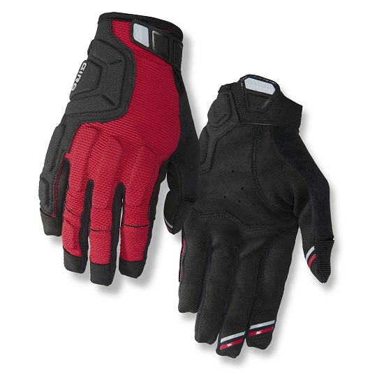 Guantes Giro Remedy X2 Dark Red /Black /Grey Talla L