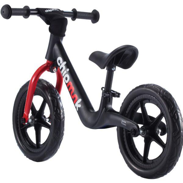 Bicicleta Balance Chipmunk Corre Pasillo Negra