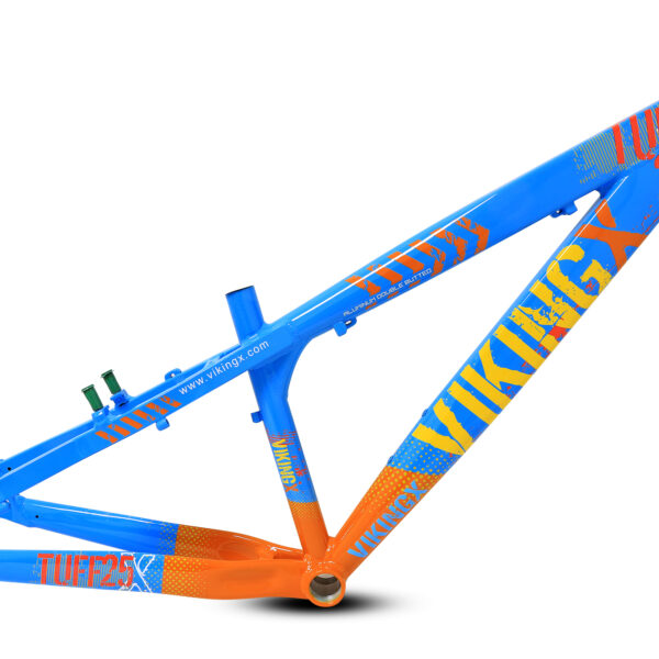 Cuadro Aluminio Viking Tuff Azul/naranjo 26″