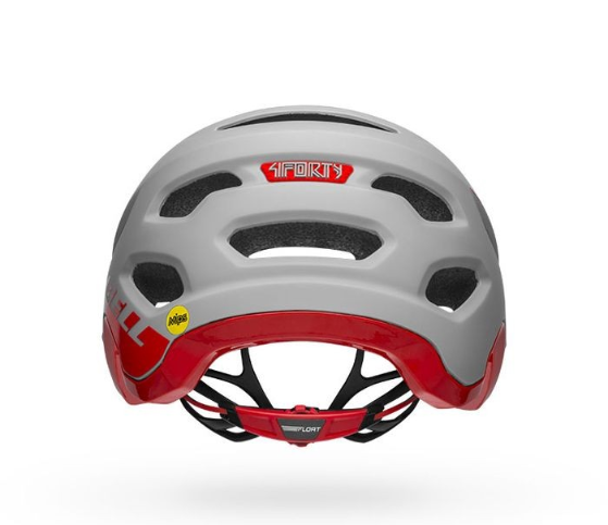 Casco Bell 4Forty Mips gris/rojo S (52-56cms)