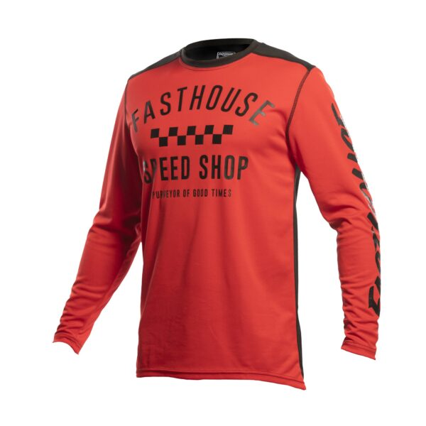 Jersey Fasthouse Carbon Red/bk
