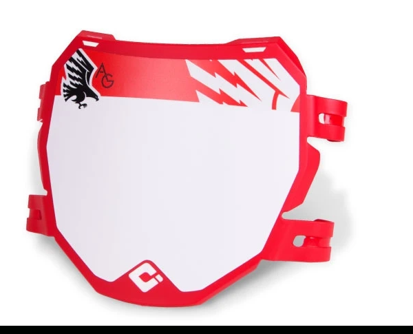 Odi Signature Downhill Number Plate Red