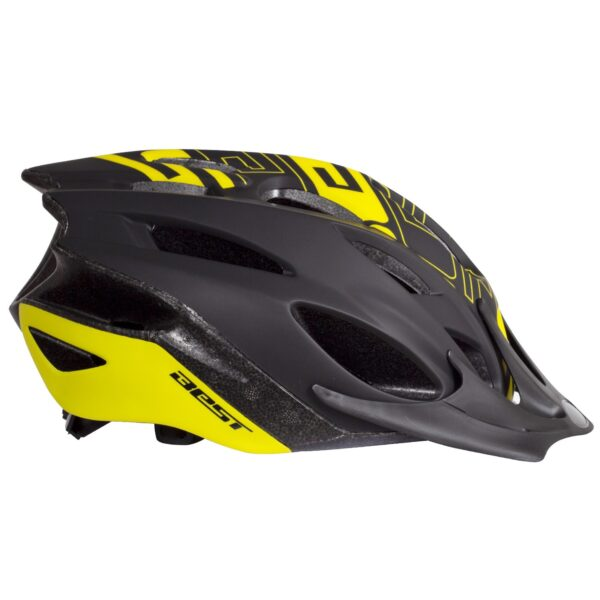 Casco Best Essential negro/ amarillo fluor unisex talla L