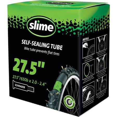 Cámara autosellante Slime Aro 27.5*2.0-2.4, Válvula de auto (schrader)