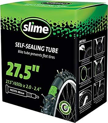 Cámara autosellante Slime Aro 27.5*2.0-2.4, Válvula Presta