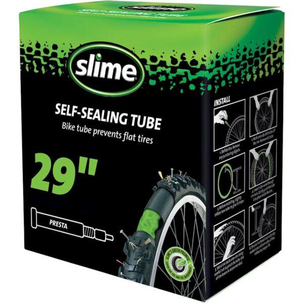 Cámara autosellante Slime Aro 29*1.85-2.2, Válvula Schrader