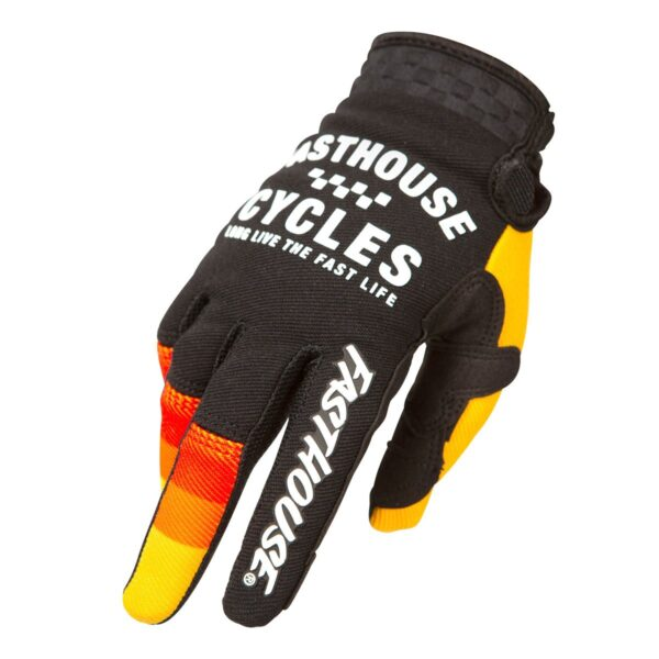 Guante Fasthouse Pacer Amarillo