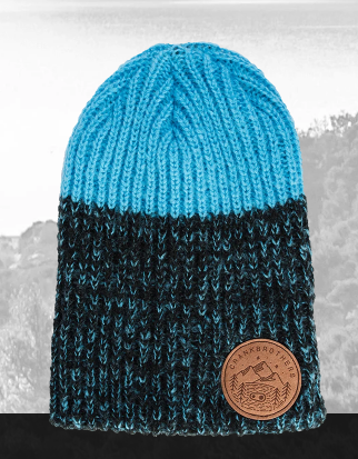 Gorro Crank Brothers Leather Patch Beanie