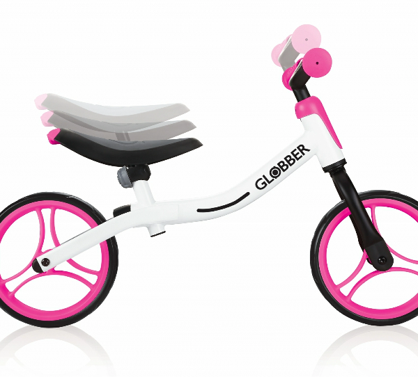 Bicicleta Balance Globber neon pink