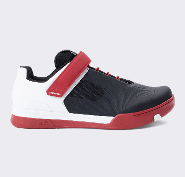 Zapatillas Crank Brothers Mallet Speedlace + strap Red/blk/wht – Red