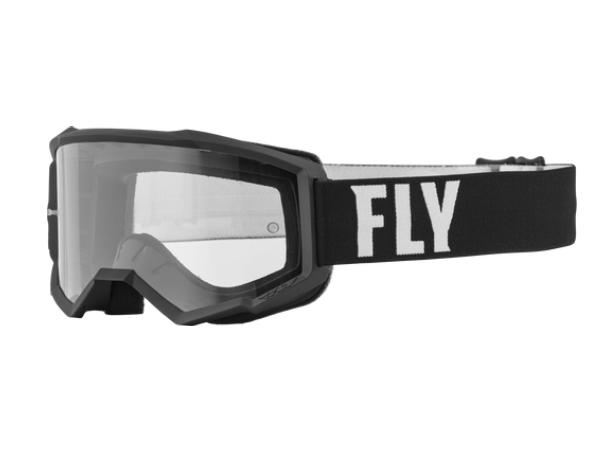 Antiparras Fly Focus black /White