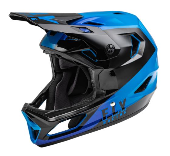 Casco Fly Rayce Matte Azul/Negro